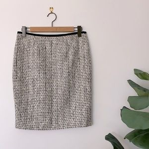NWT Calvin Klein Boucle Suit Skirt Size 6P